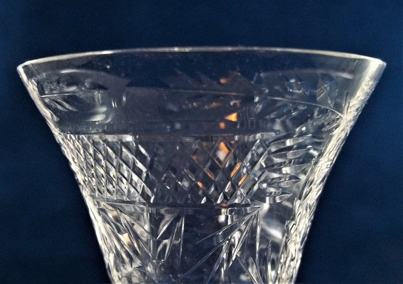 6 Tiffin-Franciscan 15088-1 Wine Glasses Polished Cuttings