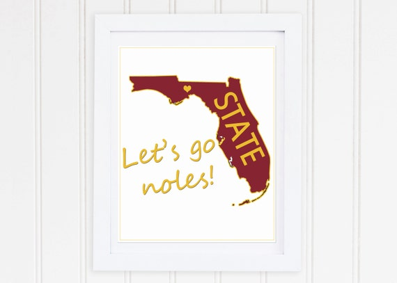 photograph about Fsu Football Schedule Printable identified as FSU seminoles print fsu soccer Allows move noles garnet and gold Florida Nation printable fsu down load seminole soccer 8x10