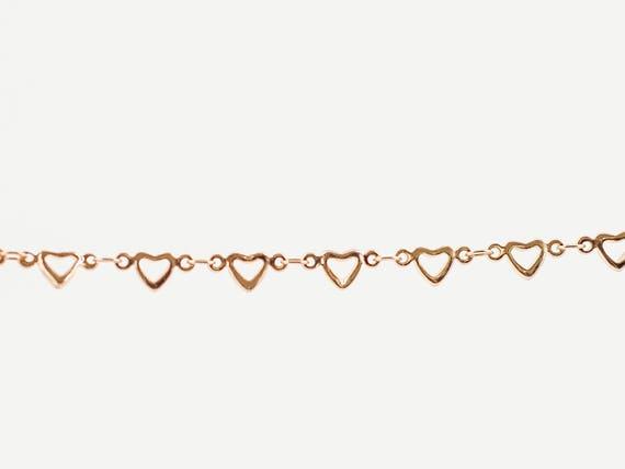 Minimalist Simple Heart Bracelet   Gold Plated Minimalist Bracelet   Layering Bracelet   Heart Bracelet   Stacking Bangle   Tiny Heart