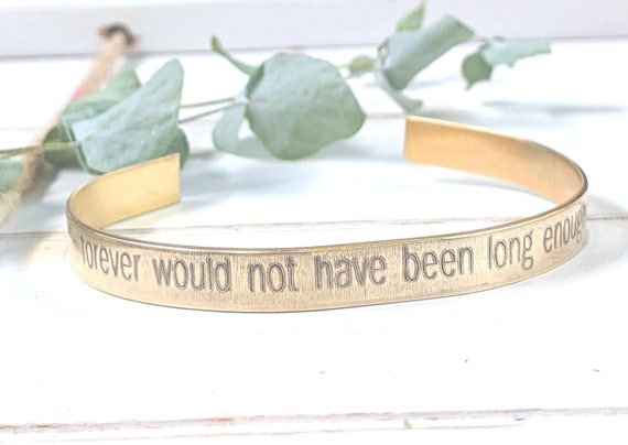 Forever Would Have Not Been Long Enough | Memorial Gift | Infant Loss | Miscarriage | Loss of Mom | Loss of Baby | Loss of Father | Jewelry