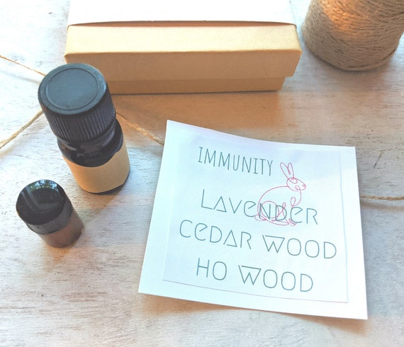 Immunity | Plant Therapy | Natural Remedy | Essential Oil | Diffuser Blend | Lavender Oil | Ho Wood Essential Oil | Cedar Wood Essential Oil