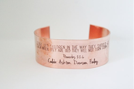 Proverbs 22 6 | Grandmother Bracelet | Mommy Jewelry | Childrens Names | Bible Verse For Mom | Gift for Nana | Mama Bracelet | Quote For Mom