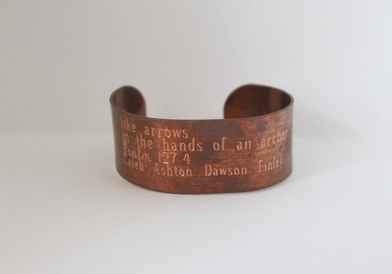 Psalm 127 4 | Arrows In The Hands Of An Archer | Mommy Jewelry | Childrens Names | Bible Verse | Mama Bracelet | Quote For Mom
