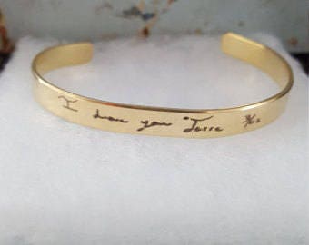 Custom Handwriting Jewelry | Handwriting Jewelry | Signature | Mother's Day Gift | Kid's Name | Remembrance Gift | Memorial | Loss Of Mom