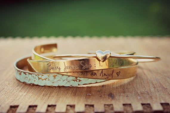 Memorial Gift | Infant Loss Gift | Sympathy Gift | Bangle Bracelet | Remembrance Gift | Loss of Mother | Miscarriage Jewelry | Memorial