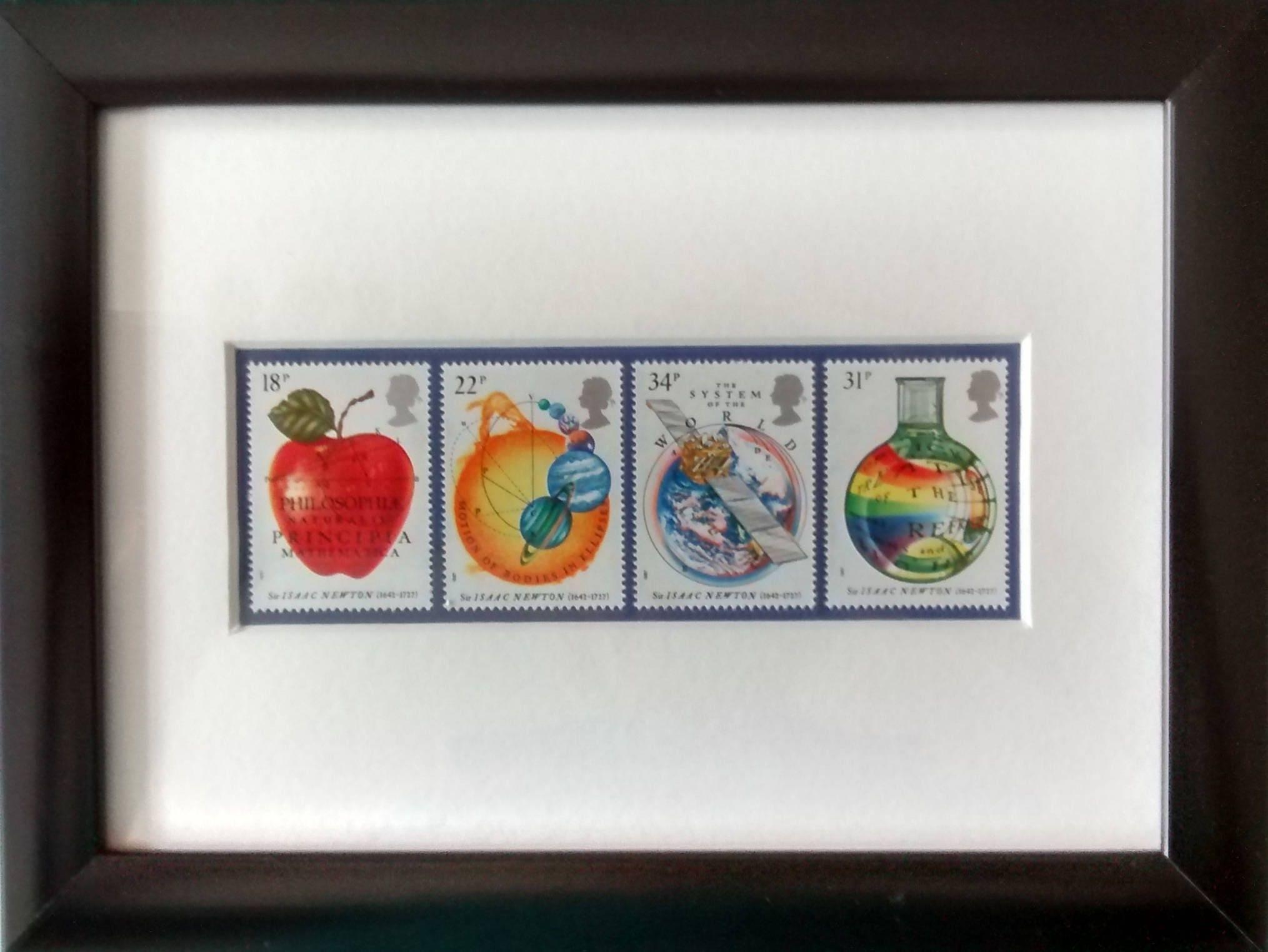 Wissenschaft gerahmt Briefmarken für Mathematik und Physik | Etsy