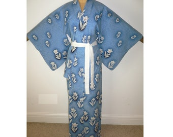 6f5f196abd SALE New Japanese Authentic Yukata Cotton Kimono Robe Dressing