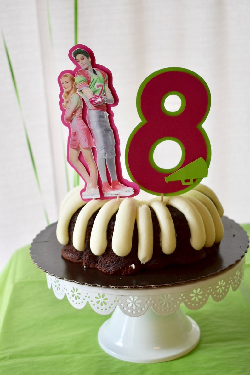 1 3 D Disney Zombie Inspired Birthday Cake Topper
