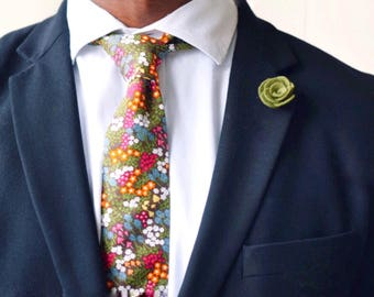 Olive green lapel felt flower pin for mens suit jacket   groom and groomsmen wedding boutonnière alternative  