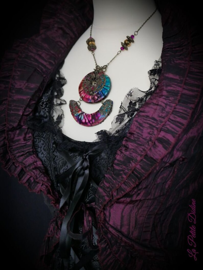 Bohemian chic necklace
