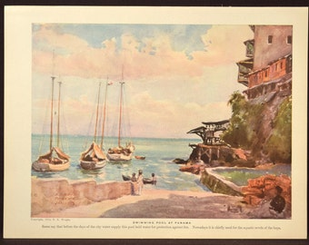 Tropical Wall Decor Caribbean Wall Art Landscape Beach Decor