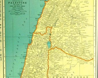 Sea of galilee map | Etsy Gennesaret Map on dead sea map, golgotha map, mount of beatitudes map, bethany map, sea of tiberias map, mount of olives map, gethsemane map, abilene map, capernaum map,