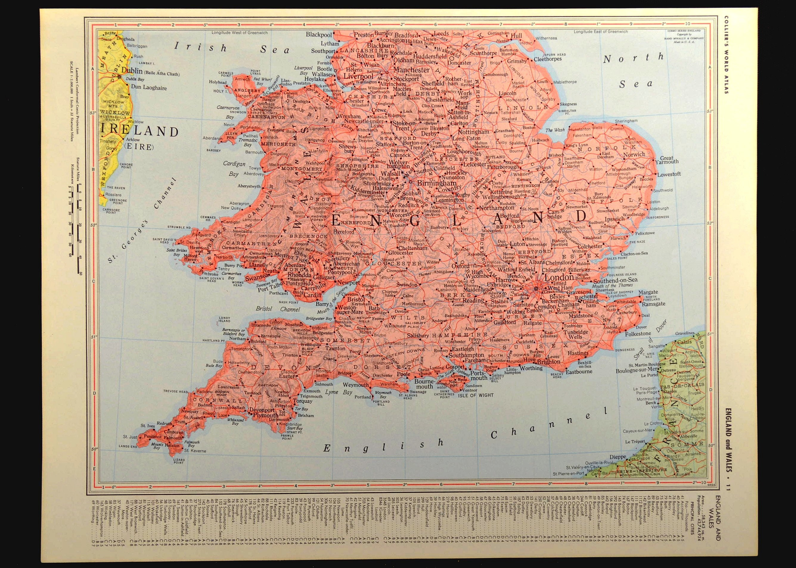 Map Of England Please.England Map Of England Wall Decor Art Vintage Wales Southern South Pink Travel Gift Wedding Gift Idea For Him Print