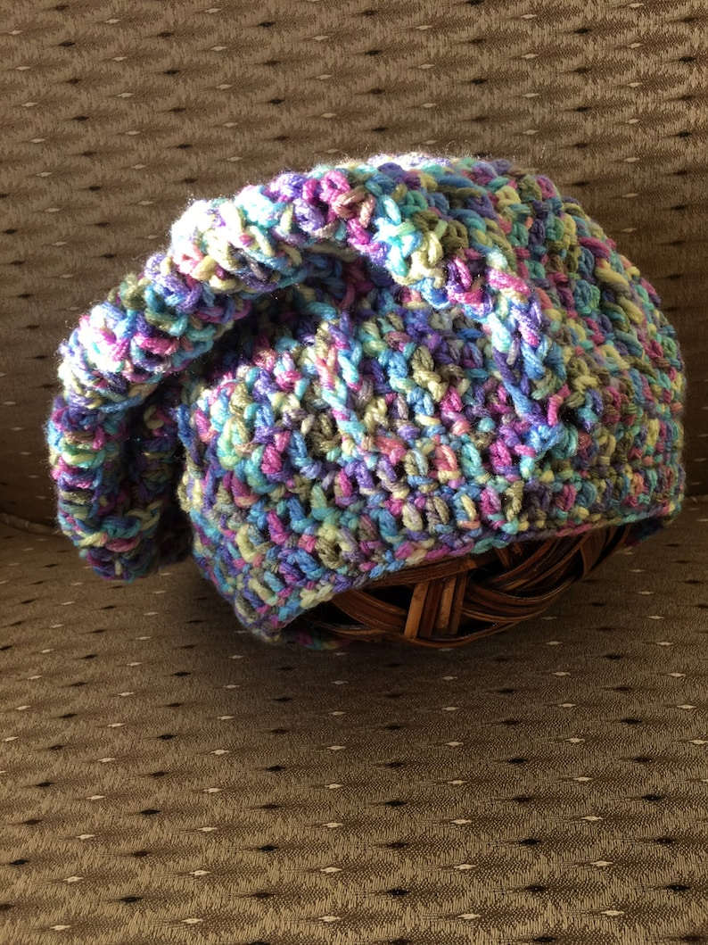 Soft and warm slouch hat or scarf image 0