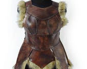 Ara leather female armor ...