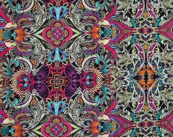 Sassy cats 75cm piece +1FQ SALE- Fabric woven craft cotton Michael Miller