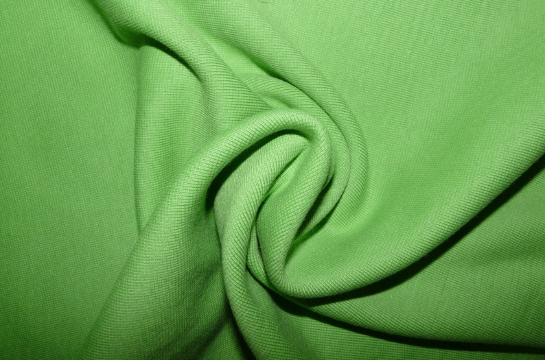 4meters neon yellow rib stretch fabric crafts