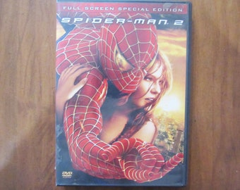 Spider-Man 2 DVD Movie Full Screen Special Edition Or Widescreen - Free Shipping