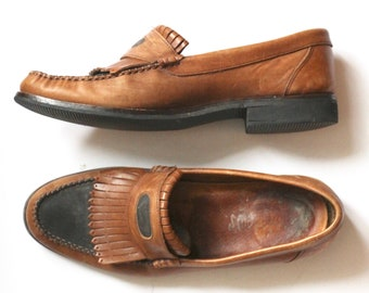 2b5413fc53fbd Suede loafers   Etsy