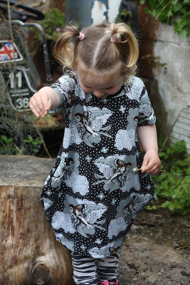 Girls Dress organic kids clothing toddler/child summer image 0