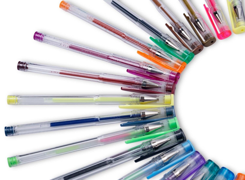 Adulto Colorante Gel Plumas 40 Gel Pen Establece Plumas De Dibujo Liso Para Scrapbook Revista Arte Para Colorear O Creativo Proyectos Liso Color