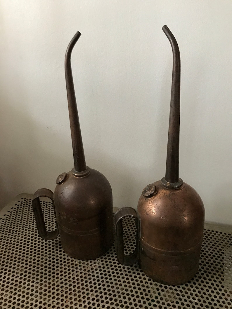 Industrial Copper Oiler Cans