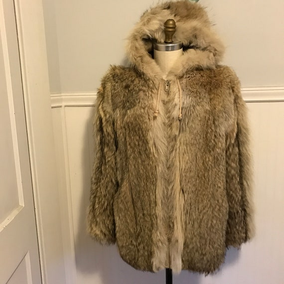 Coyote Ski Parka Hooded Apri Ski Winter Fur Jacket
