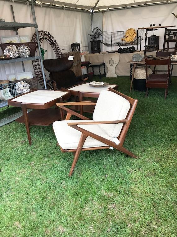 Vintage Mid Century Z Chair Poul Jensen Selig Danish Modern | Etsy