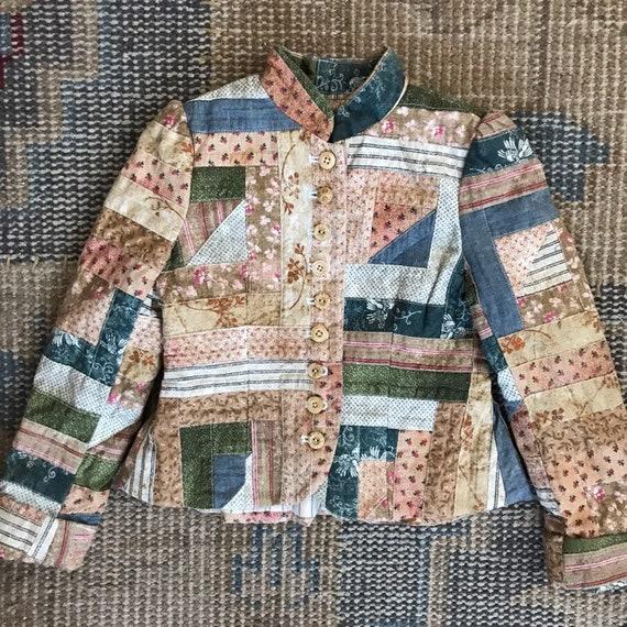 Rare Ralph Lauren Jacket Child Patchwork Western P