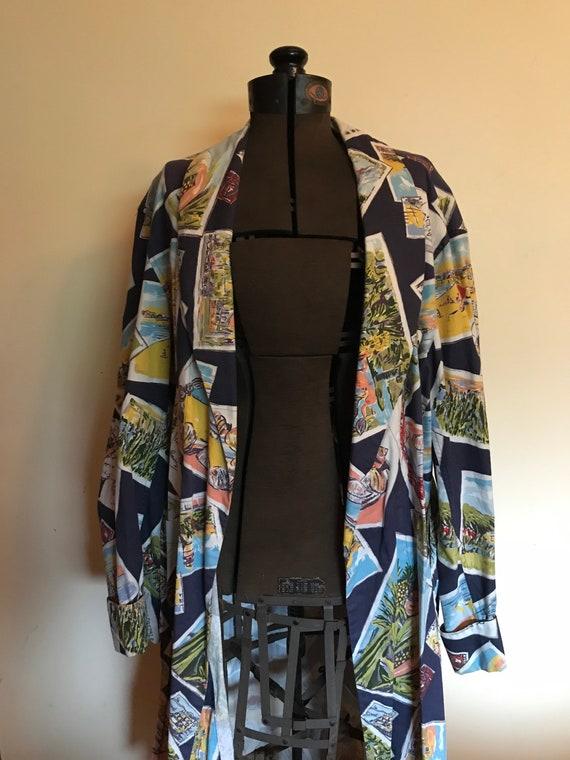 Rare Ralph Lauren Robe Kimono Rare Ralph Lauren P… - image 8