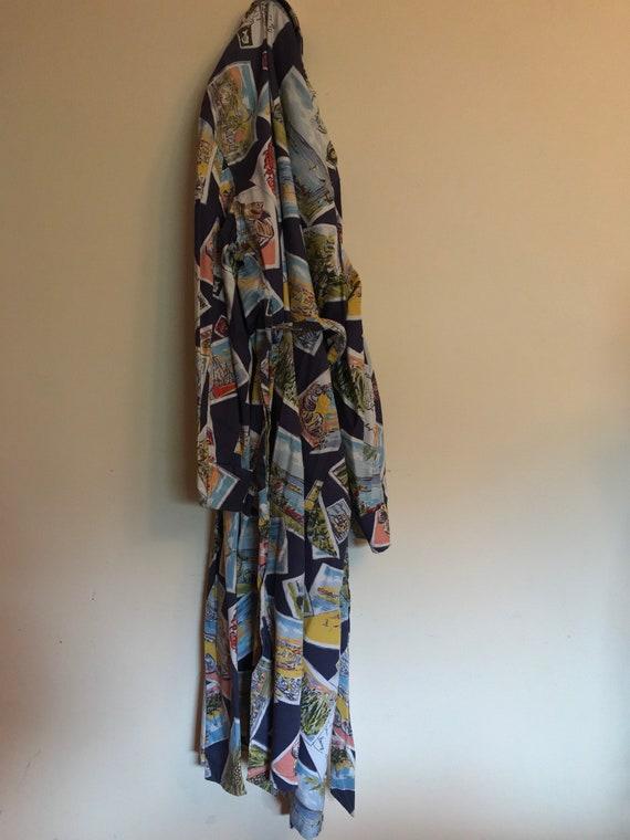 Rare Ralph Lauren Robe Kimono Rare Ralph Lauren P… - image 5