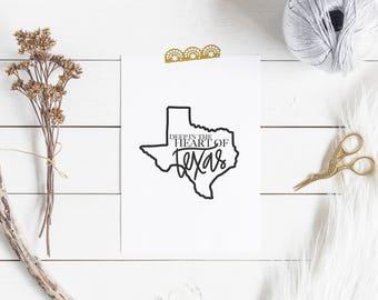 Heart of Texas Digital Download