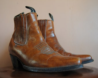 5525a635db0e8 Mens ankle boots   Etsy
