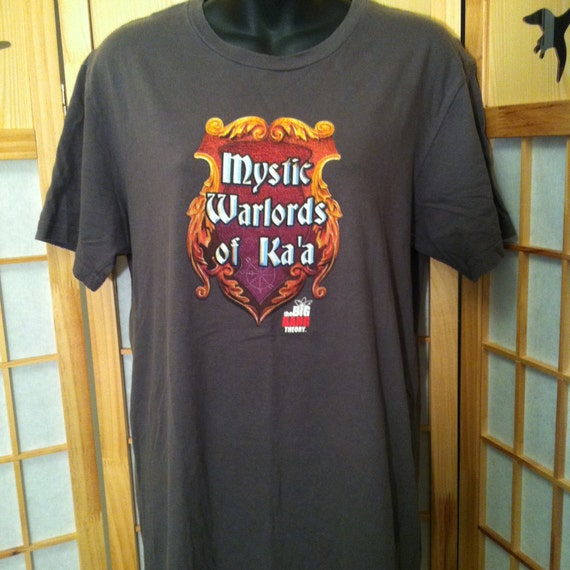 Mystic Warlords Of Ka'a T-Shirt The Big Bang Theor