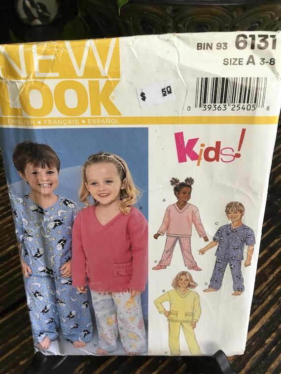 New Look Kids Sweatshirt and Pj s Sewing Pattern No 6131  212d79bd4