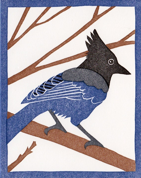Steller/'s Jay Card