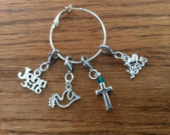 Religious Stitch Markers