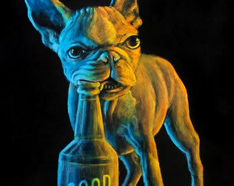 "Fine art print ""Good Dog"""