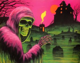 """Fine art print """"Mr. Spooky's Midnight Stroll"""""""
