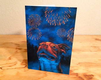 Speechless - blank greeting card