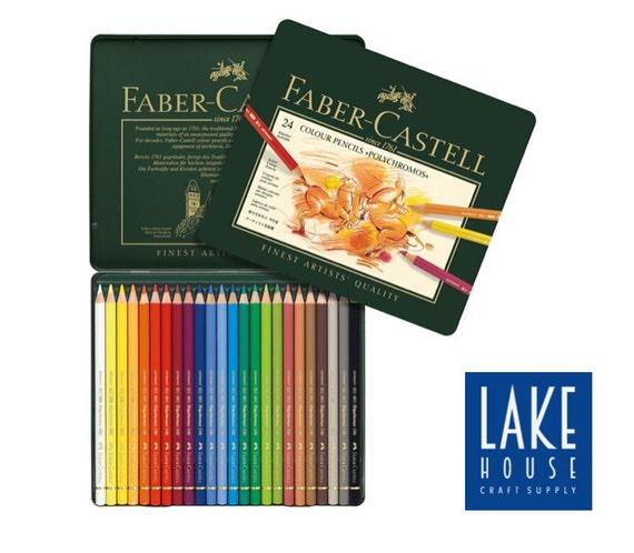 Polychromos Colored Pencil Set. 24 Color Pencils by | Etsy