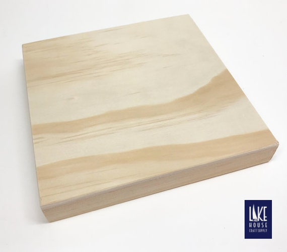 Bare Wood Panels. Plain Wood Canvas Panels. Unfinished Wooden | Etsy