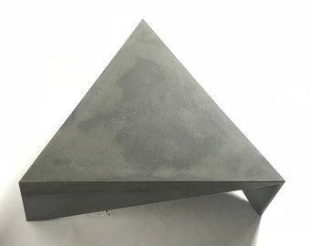 Concrete Triangle Coffee Table Equilateral