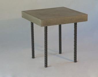 Concrete Rebar Coffee table