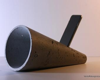 Concrete Cellphone Speaker