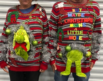 Brown literary arts prizes for ugly sweater