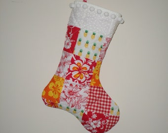 Hawaiian Punch stocking
