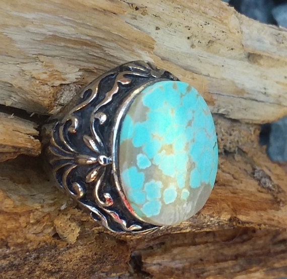Turquoise Ring Size7 25 Native American Jewelry Fashion Etsy