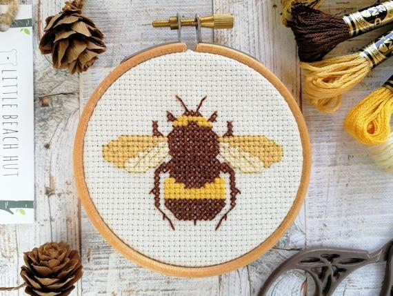 Süße Biene Nähzeug Biene Kreuz Stich Kit | Etsy