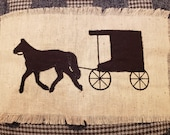 Buggy Silhouette zigzag appliqué design download for embroidery machine